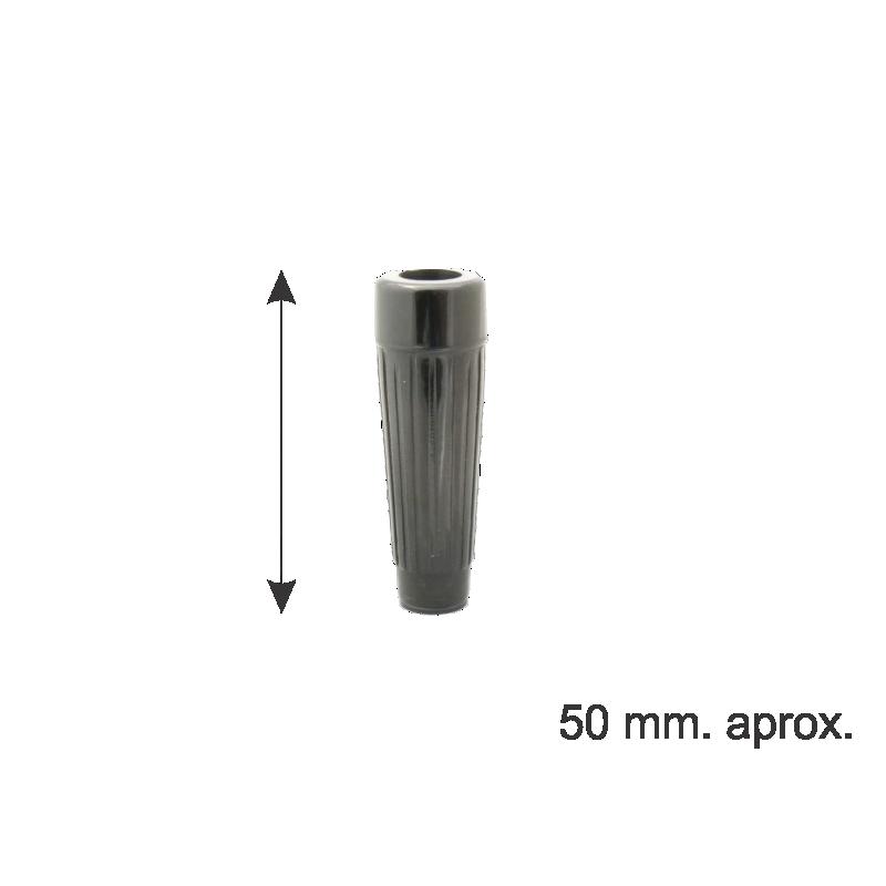 MANIJA CON AGUJERO PASANTE 50 mm X 8 mm.