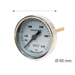 TERMOMETRO Diam. 65mm. Vast. 8cm