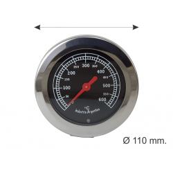 PIROMETRO 100mm. de 0 a 600 grados